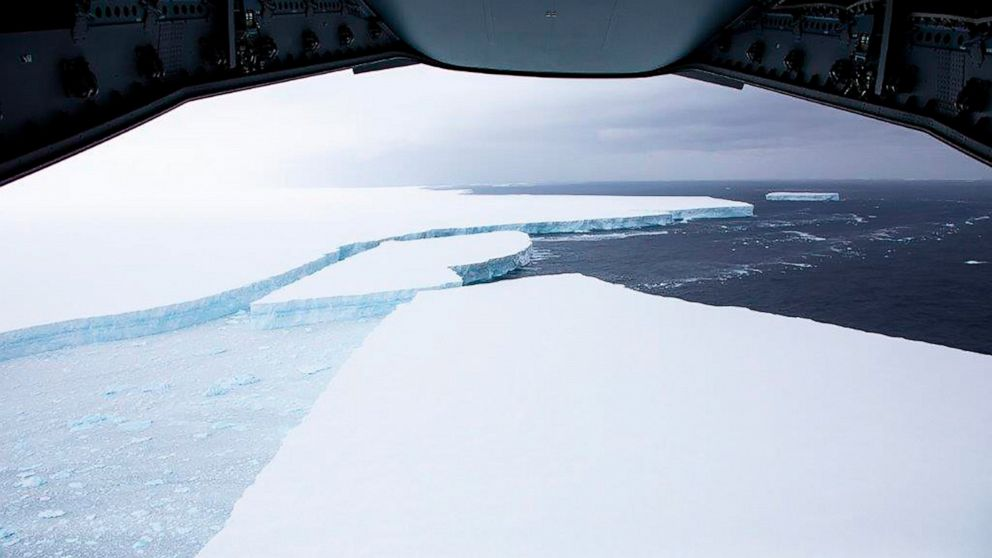 Research trip to study impact of giant floating iceberg ...