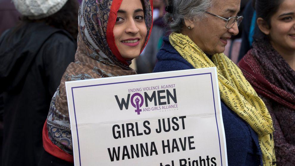 Pakistani lawmakers claim women's march was anti-Islam
