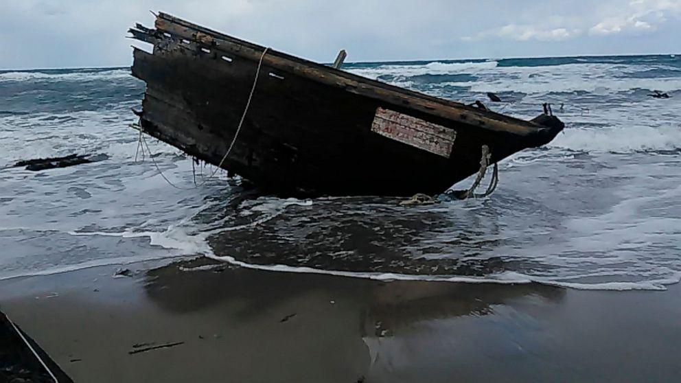 Υποψία της Βόρειας κορέας βάρκα με πτώματα που βρέθηκαν στην Ιαπωνία