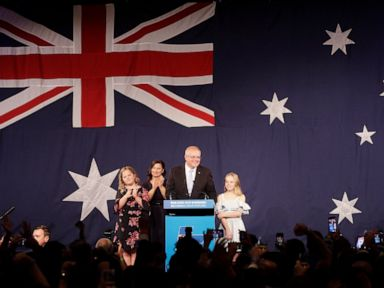Australias conservative coalition wins surprise 3rd term