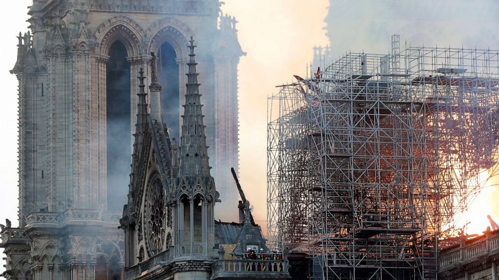 Millions Pledged To Rebuild Notre Dame Cathedral