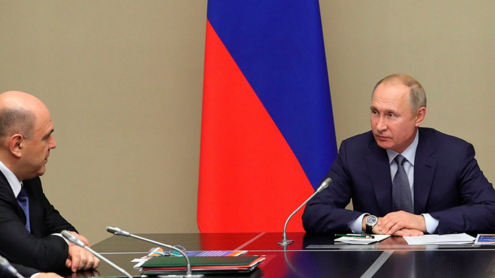 Putin sends his constitutional proposals to Parliament
