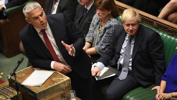 New blow to Johnson's Brexit plan after vote on deal blocked