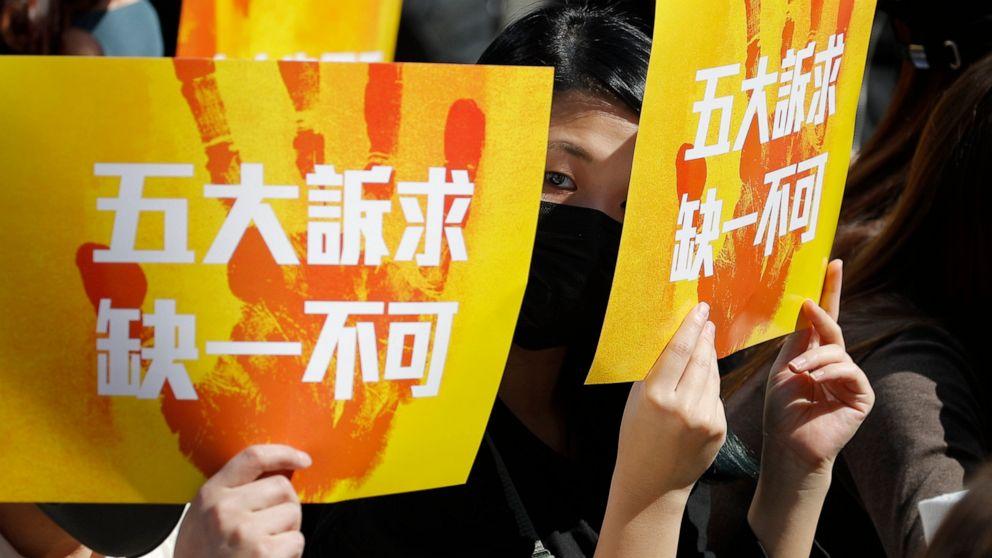 中国の停止、米海軍の訪問香港に新規法
