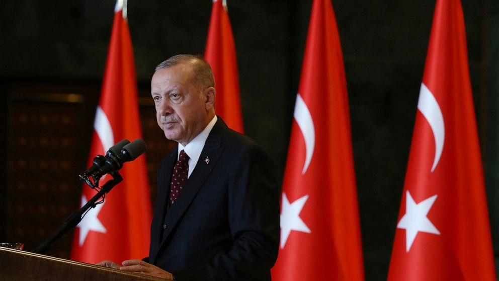 The Latest: Erdogan hails Turkey-US efforts on Syria zone