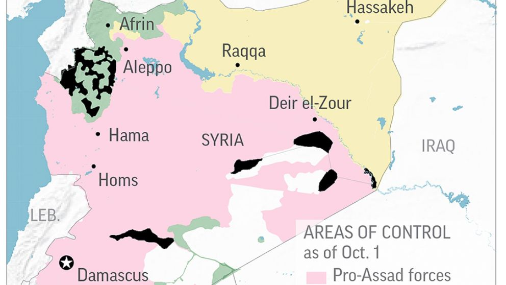With US leaving, rival powers seek to move into Syria's east.