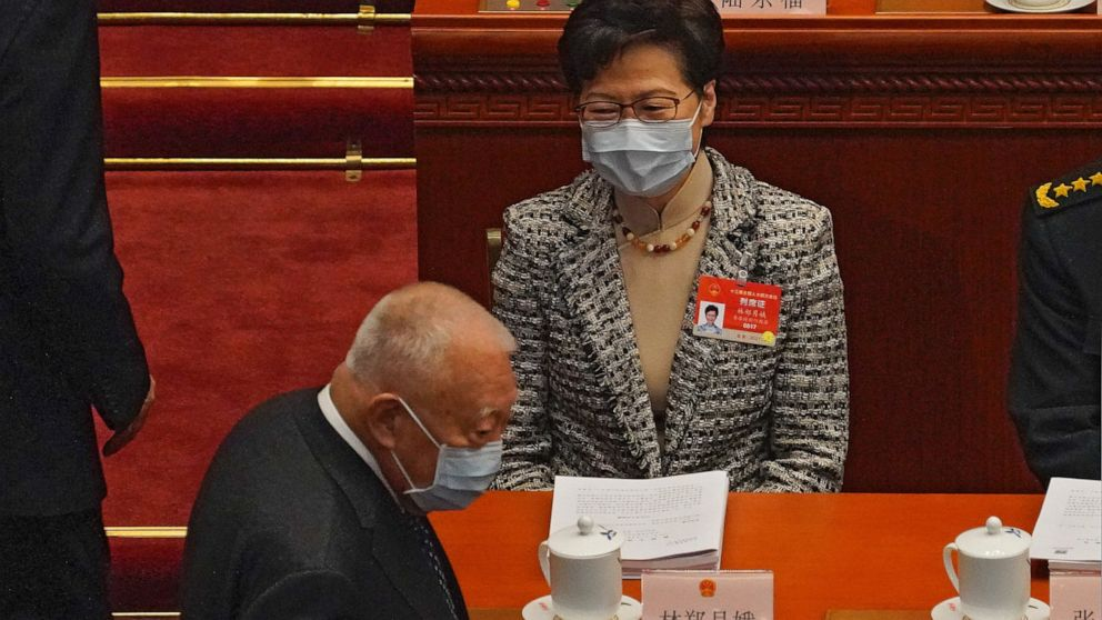 Hong Kong leader 'fully welcomes' proposed electoral reforms