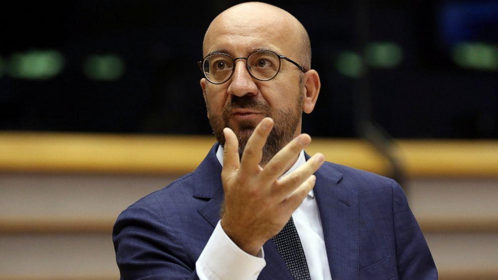 EU leaders seek to ramp up pressure on Belarus president thumbnail