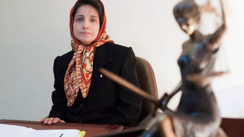 Imprisoned Iranian human rights lawyer begins hunger strike