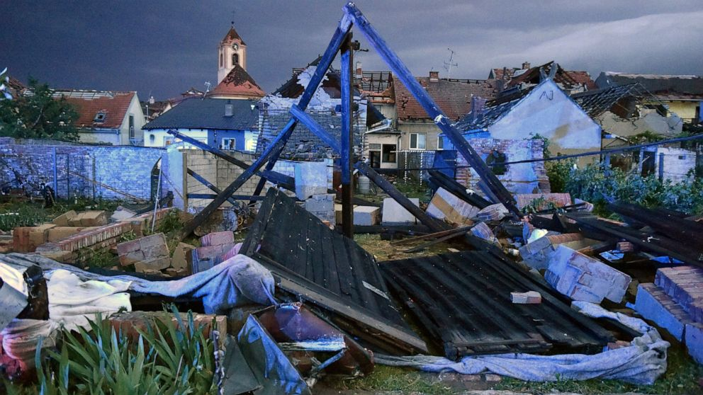 At Least Five People Dead, Over 100 Injured as Rare Tornado and Hail Hits Czech Republic