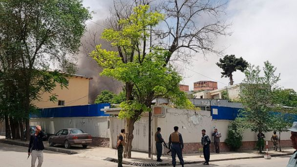 Taliban attack aid group office in Afghan capital, kills 5