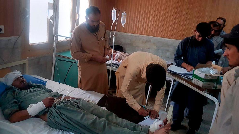 Kecelakaan Bus tewaskan 22 orang di Pakistan barat laut, setelah rem gagal