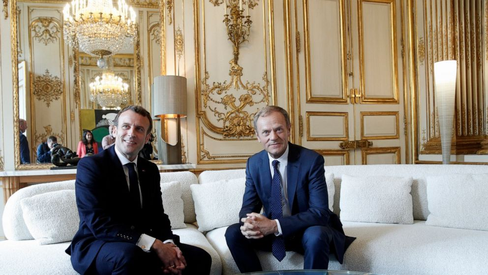France's Macron accuses Bannon, Russians of eroding Europe