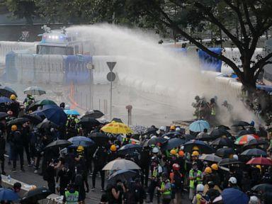 Hong Kong govt: Violence is harmful, won't solve divisions
