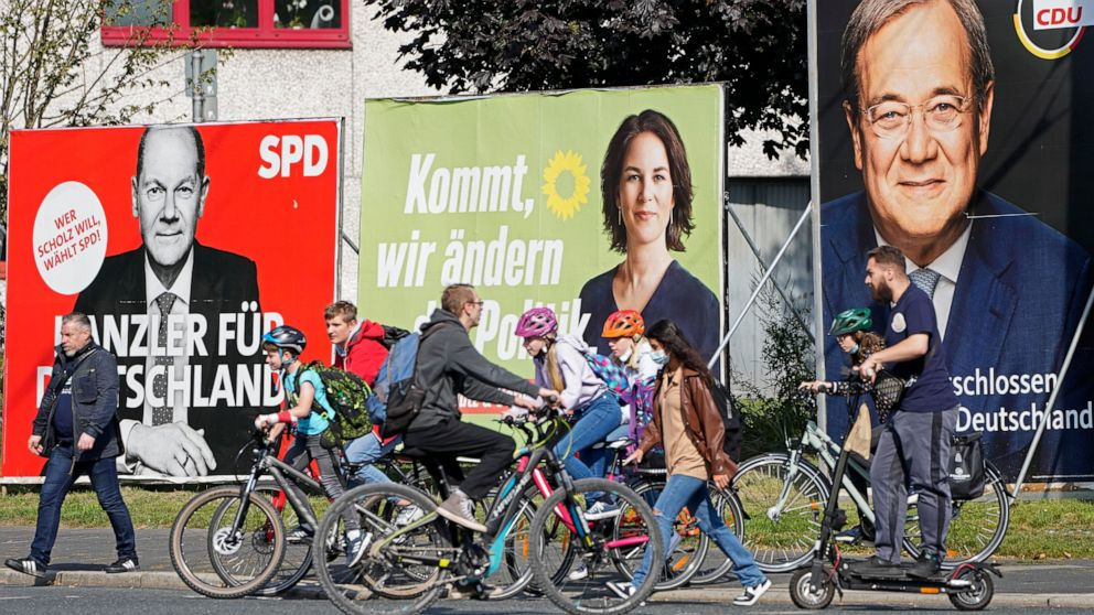 German parties rally supporters ahead of Sunday election