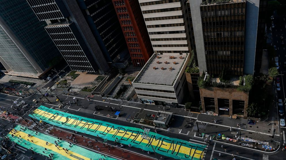 Brazil protests show low street support for impeachment push