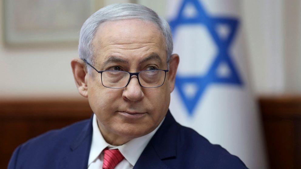 Der israelische PM ' s office Airbrush Netanyahu 'Jelzin' Ausrutscher