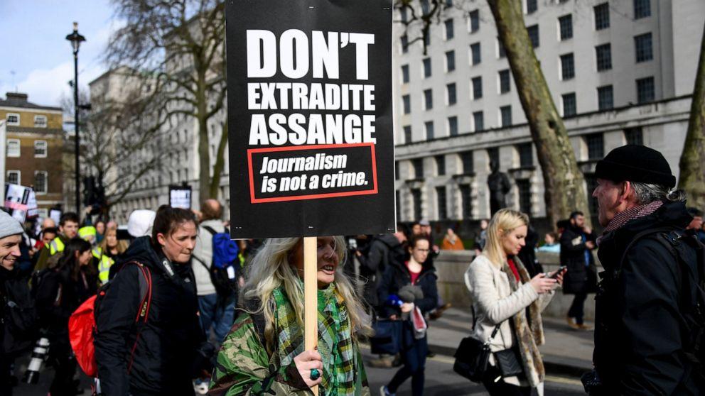 Ekstradisi pendengaran untuk memulai untuk Assange pendiri WikiLeaks