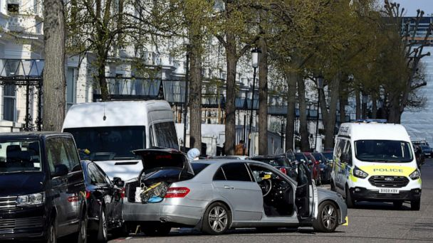 Ukraine ambassador's car rammed in London; Police fire shots