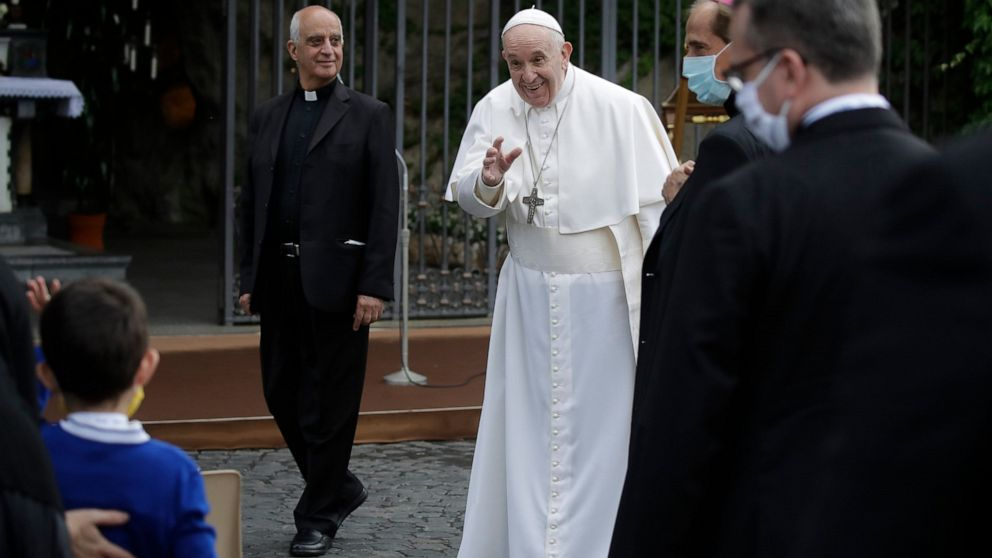 Pope presides over virus prayer in hint normalcy returning