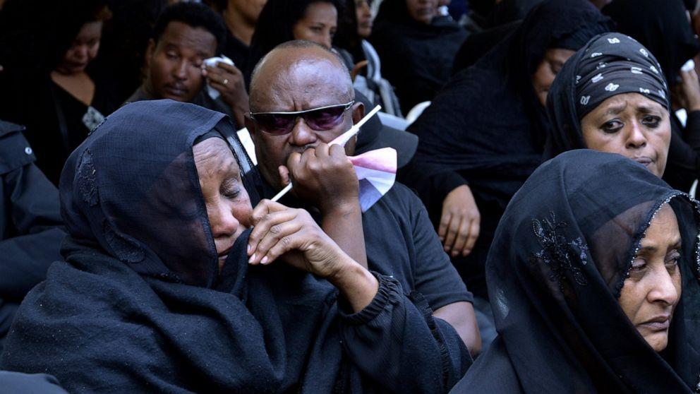 Ethiopia crash victims' relatives mark 40 days of mourning