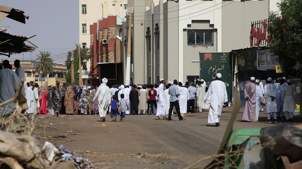 The Latest: Sudan protest leader meets Ethiopian mediator