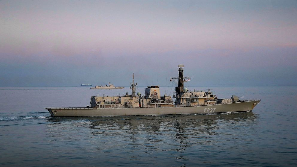 Royal Navy ship shadows Chinese destroyer in English Channel