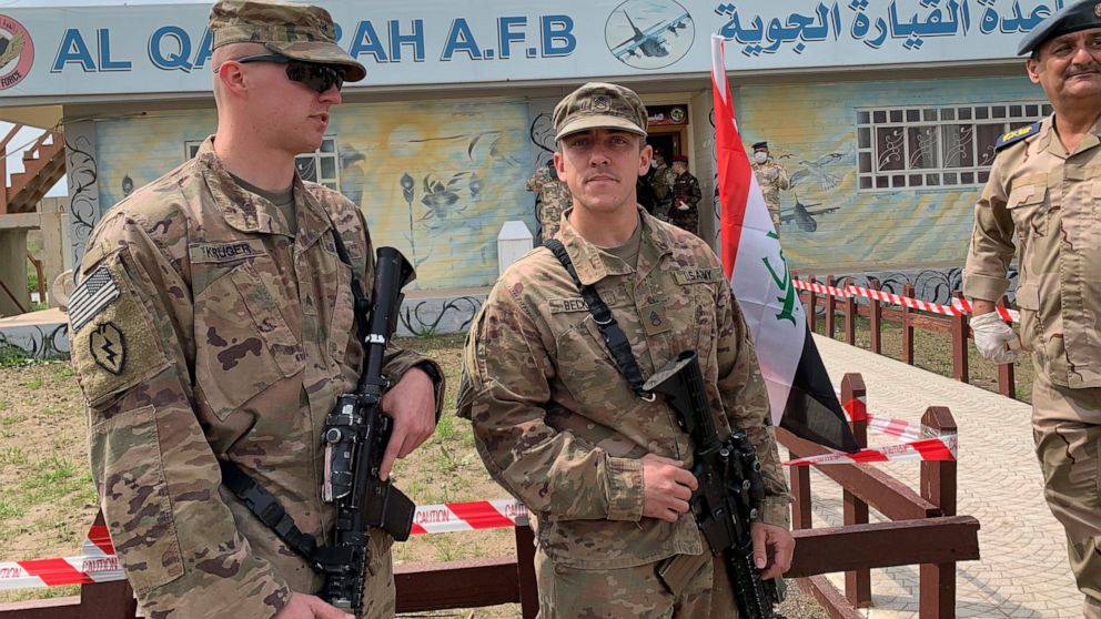 US-led forces pull out of 3rd Iraqi base this month