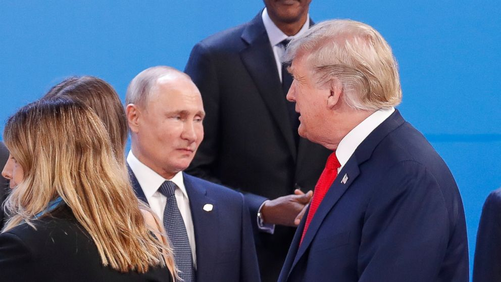 Putin Tells Trump In New Year S Letter He S Open To Meeting Abc News