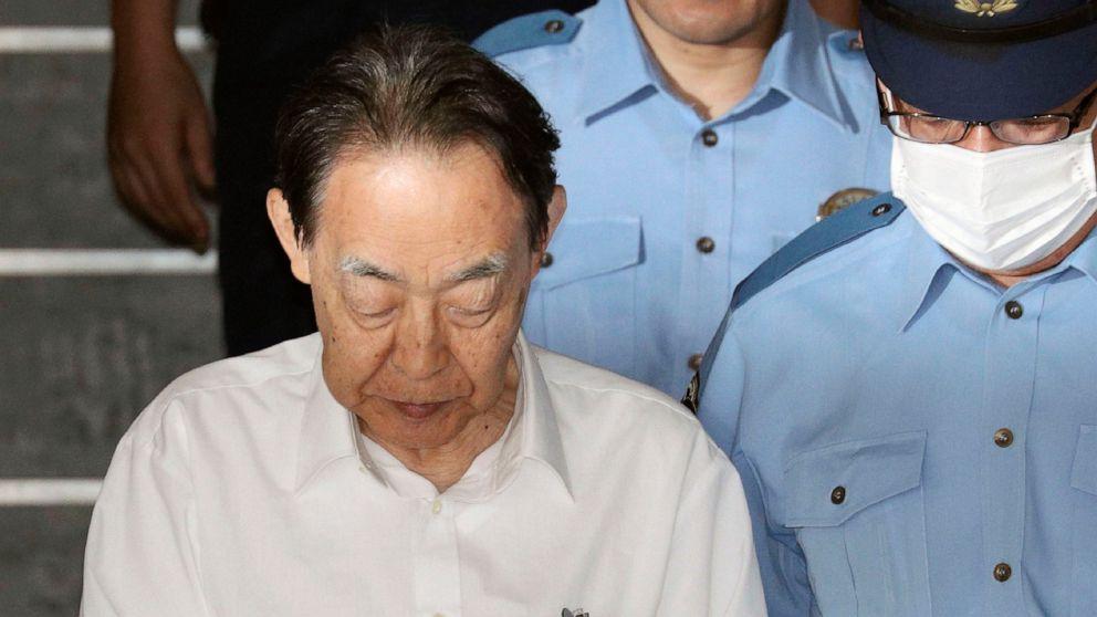 Former Japanese official sentenced for killing reclusive son