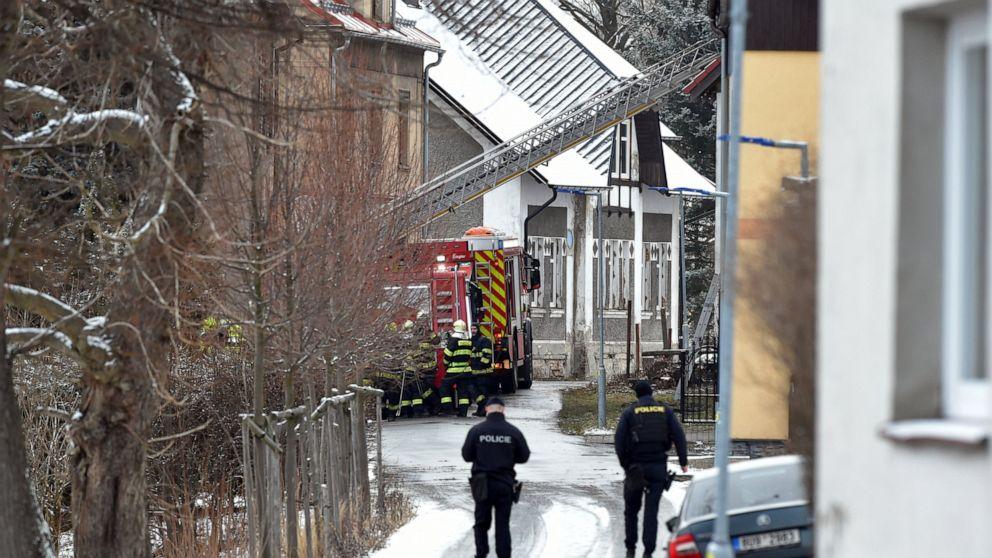 Feuer im Tschechischen Asyl für psychisch kranke tötet 8 Patienten