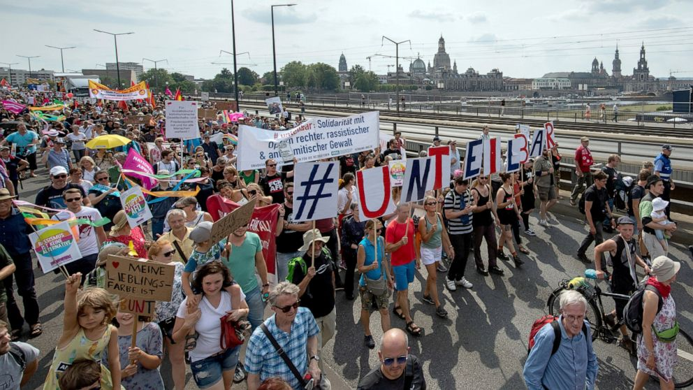 Thousands protest in Germany against racism, discrimination