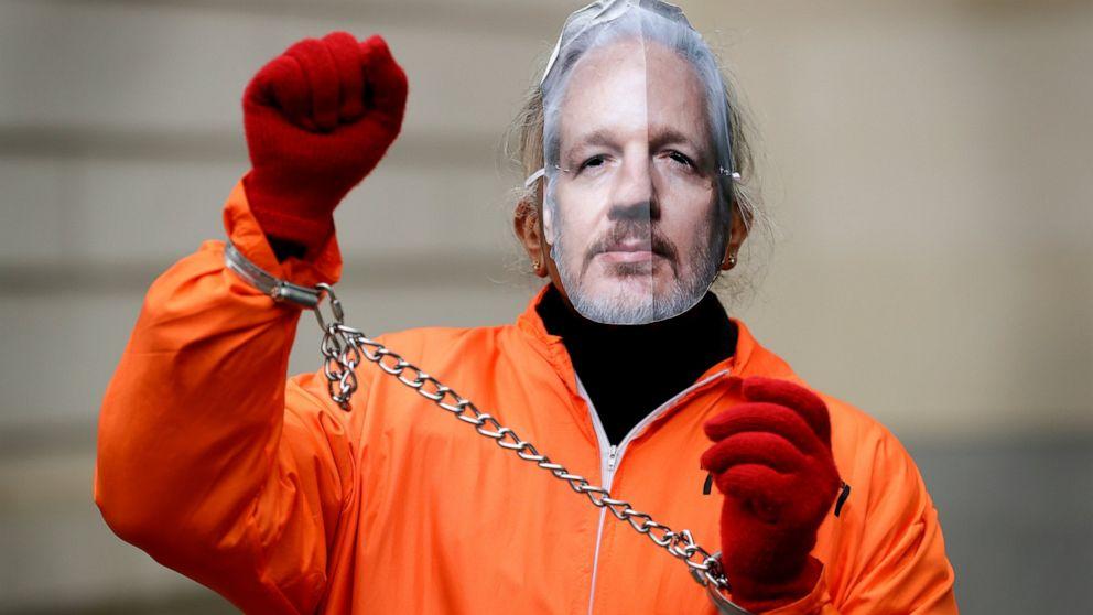 UNS legen Sie den Fall gegen Assange bei Auslieferung-Anhörung