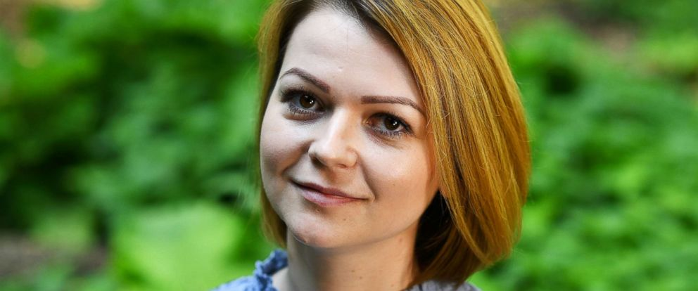 PHOTO: Yulia Skripal, who was poisoned in Salisbury along with her father, Russian spy Sergei Skripal, speaks to Reuters in London, on May 23, 2018.