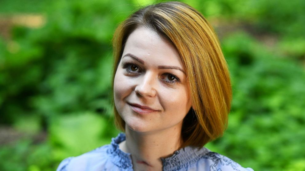 Yulia Skripal, who was poisoned in Salisbury along with her father, Russian spy Sergei Skripal, speaks to Reuters in London, on May 23, 2018.