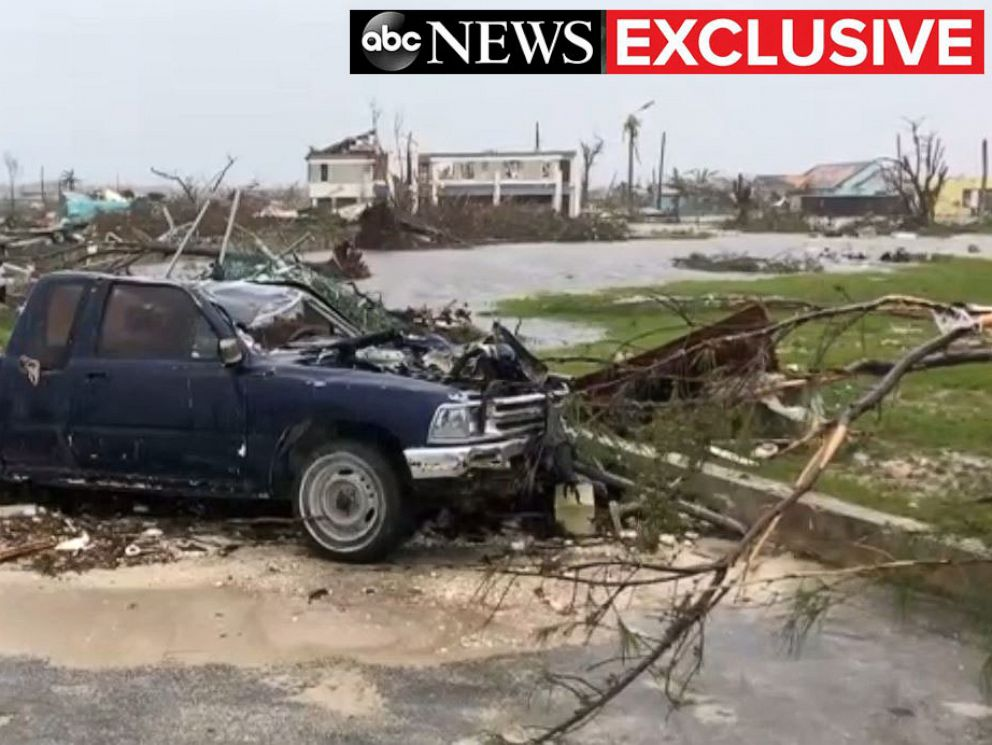 PHOTO: Hurricane Dorian dealt massive damage to the Abaco Islands, Bahamas, over Labor Day weekend.