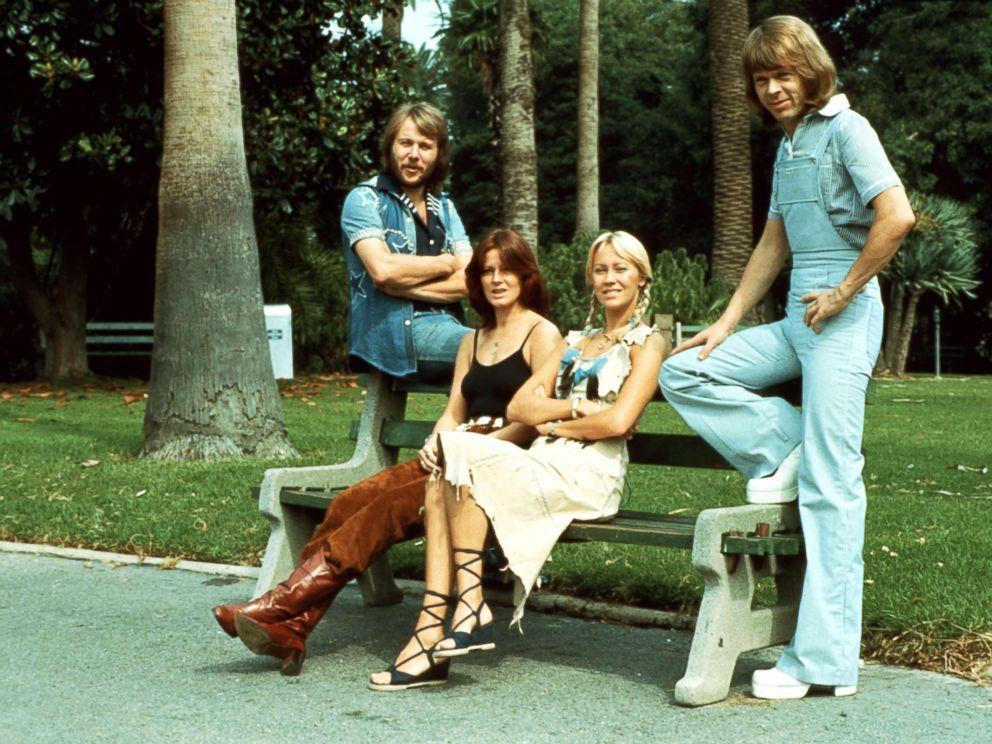 PHOTO: Swedish music act, ABBA.