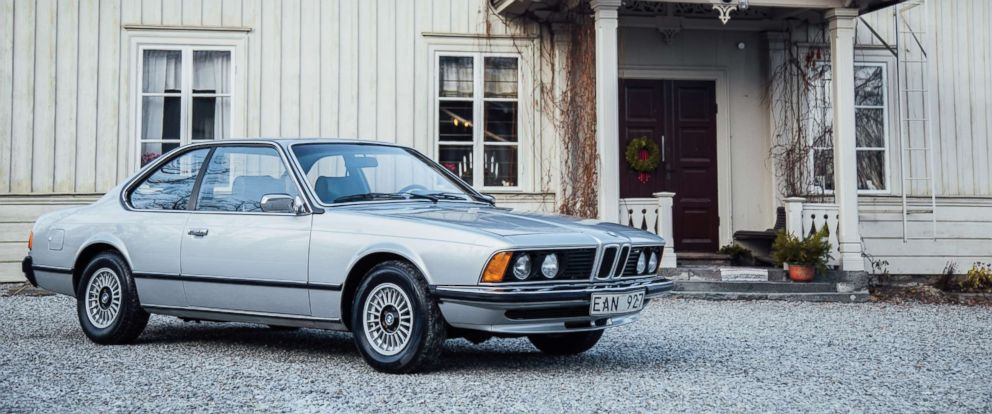 PHOTO: This BMW, previously owned by Benny Andersson of ABBA, sold at auction.