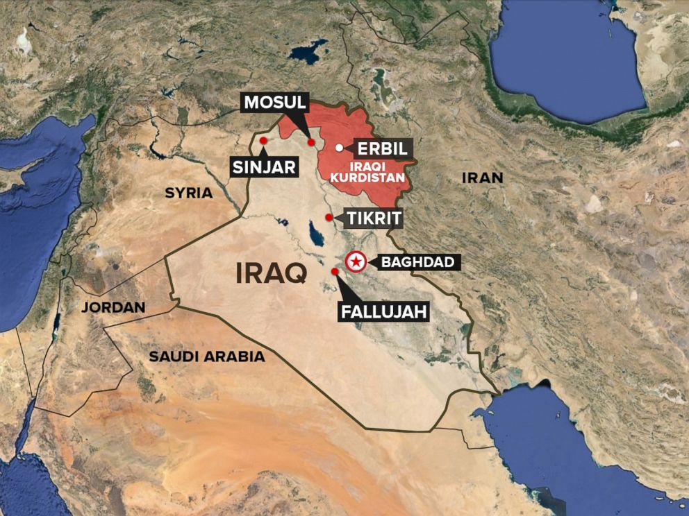 photo a map showing the kurdish region of iraq
