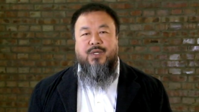 VIDEO: Ai Weiwei presents his message on freedom of expression to TED audience.