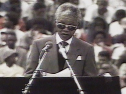 VIDEO: Nelson Mandelas new freedom and government changes invigorate South Africans.