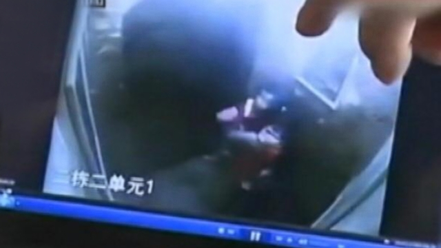 Horrifying Video Shows Girl Viciously Attack A Baby in Elevator