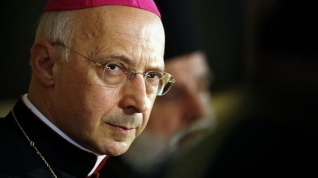 VIDEO: The Archbishop of Genoa, 70, is president of the Italian Bishops Conference.