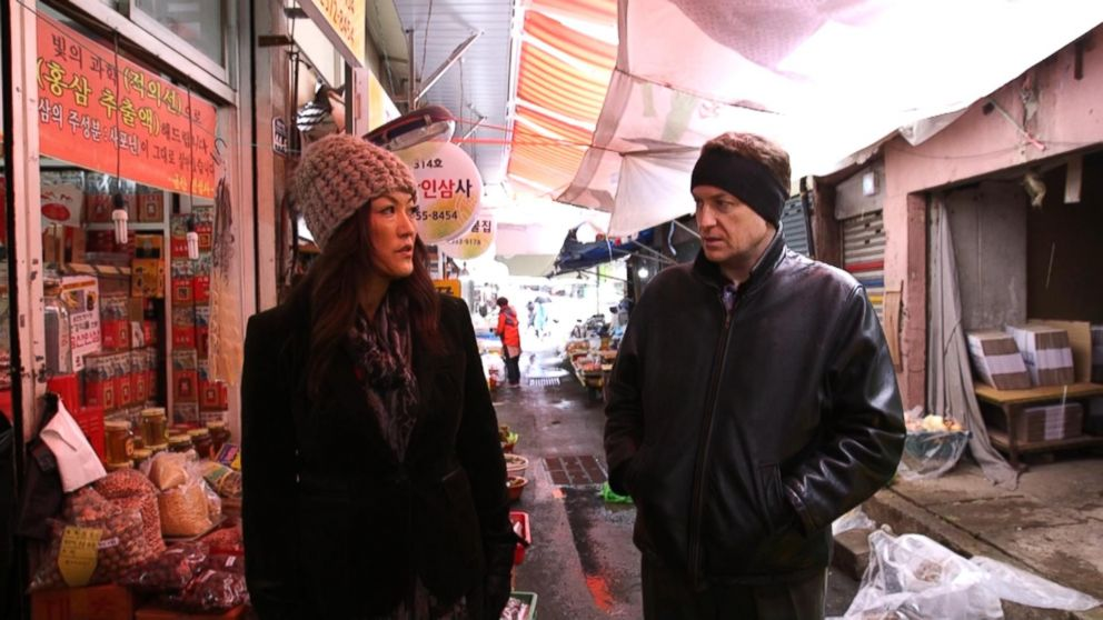 Nightline co-anchor Juju Chang interviews Robert Kelly, a Busan-based politics professor and TV commentator.