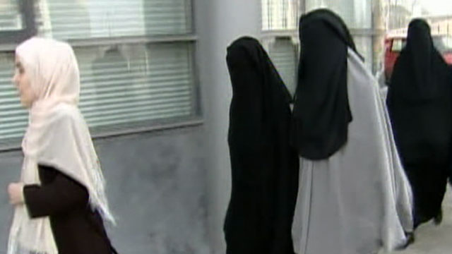 A new law goes into effect in France, Monday, April 11, 2011, banning women from wearing burqas in public.