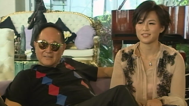 PHOTO: Cecil and Gigi Chao said they have maintained their father-daughter relationship despite Cecil offer to give $65 million to any man who can win his daughters heart.