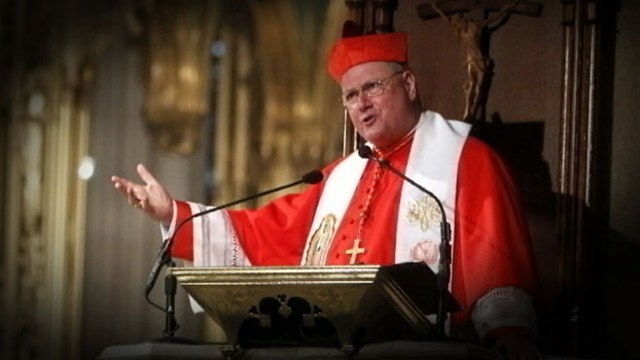 VIDEO: The Archbishop of New York, 63, is the President of the U.S. Conference of Bishops.