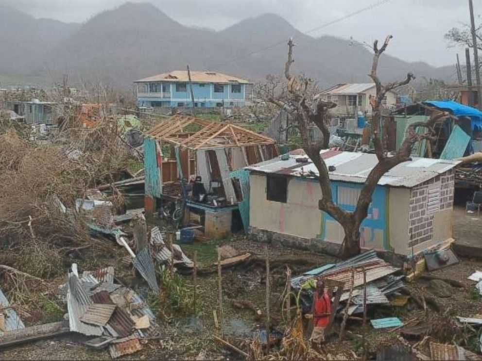 Without warning, Hurricane Maria rapidly accelerated from a Category 3 to a Category 5, and Dominican residents said they could do little to prepare.