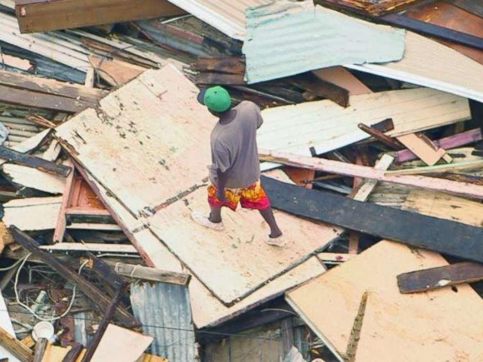 Hurricane Maria destroyed communities and flatted entire forests on the island of Dominica.