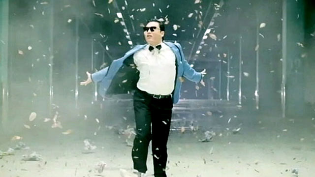 "PHOTO: South Korean rapper Psy released his music video ""Gangnam Style"" last month, and since it has gone viral."